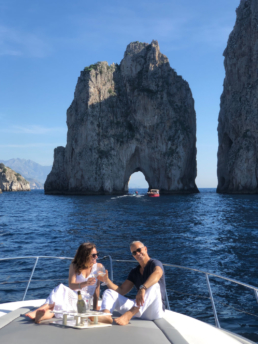 Capri private boat tour | Luxury Boats Positano