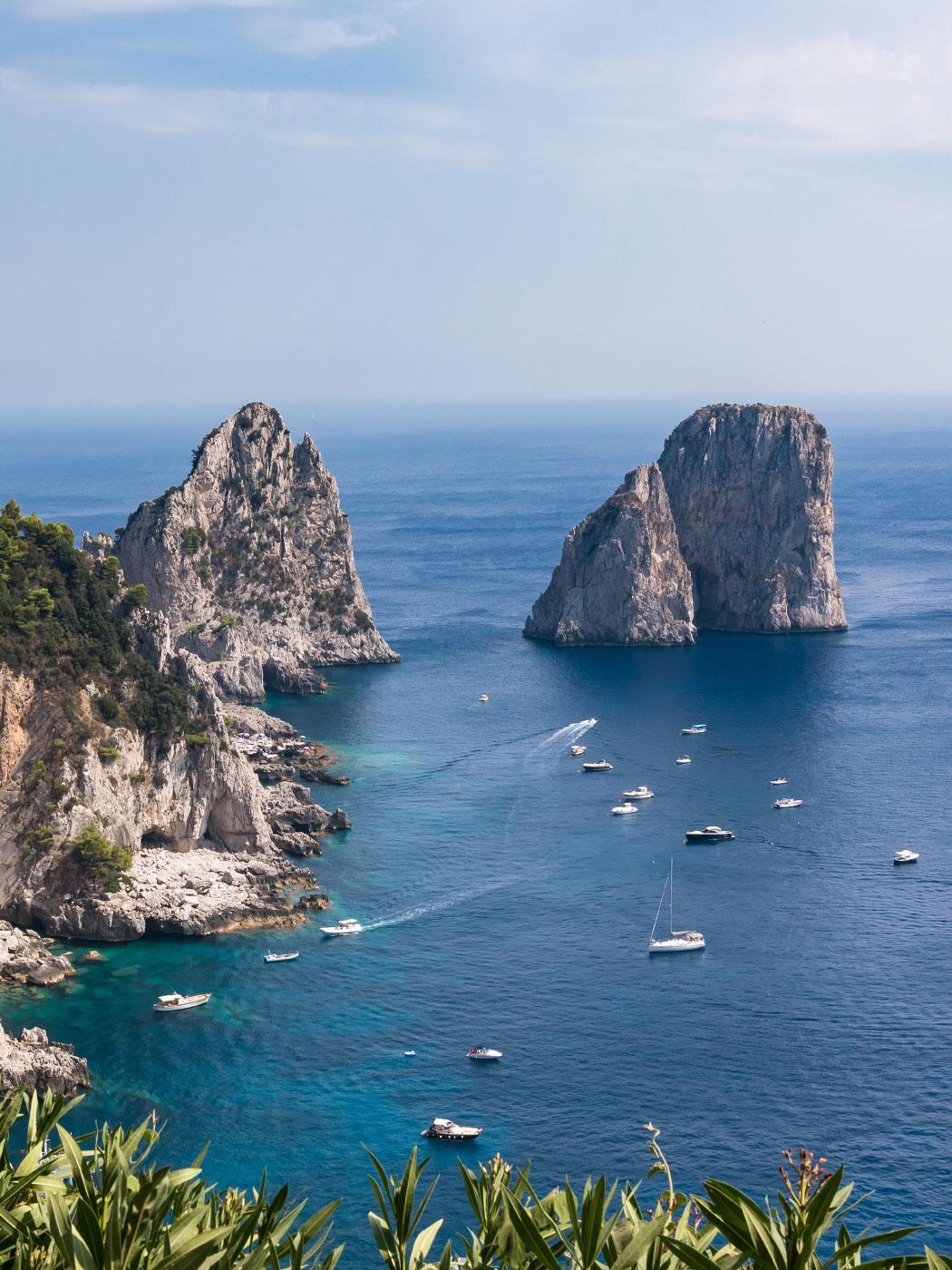 Capri private boat tour | Luxury Boats Positano
