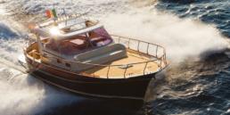 Aprea 36 Gozzo sorrentino boat | Luxury Boats Positano