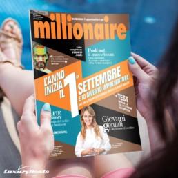 SelfieTour su Millionaire | Luxury Boats Positano