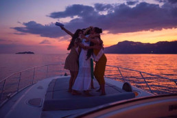 Positano Selfie Tour by sunset