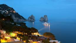 Capri by night | Luxury Boats Positano
