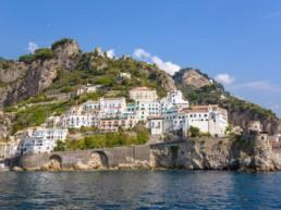 Sails along Amalfi Coast on board elegant yachts
